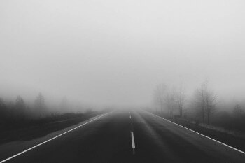 Driving safely in foggy conditions